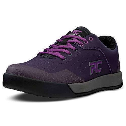 Ride Concepts Women's Hellion Flat Pedal Mountain Bike Shoe Dark Purple/Purple 8.5 M US