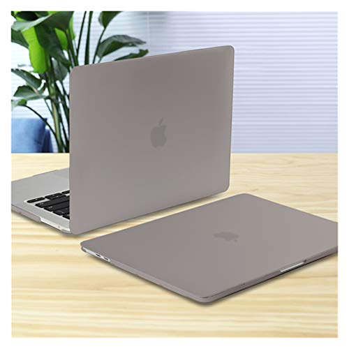 XXY For New MacBook Pro Air 11 12 13 15 16 Inch A2289 A2179 A2337 Matte Clear Laptop Case Keyboard Cover+Screen Film (Color : Matte Grey, Size : 11 inch)
