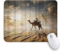 マウスパッド 個性的 おしゃれ 柔軟 かわいい ゴム製裏面 ゲーミングマウスパッド PC ノートパソコン オフィス用 デスクマット 滑り止め 耐久性が良い おもしろいパターン (素敵なビーフステーキの卵)