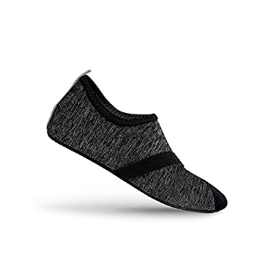 FitKicks Live Well Women's Foldable Active Lifestyle Minimalist Footwear Barefoot Yoga Water Everyday Shoes