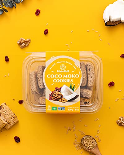 GluteNull Coco Moko Shortbread Cookies - Gluten Free, Vegan, Delicious