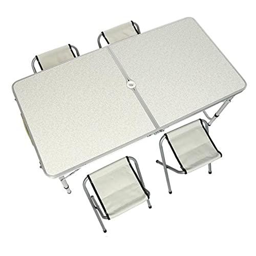Mesas portátiles Plegables para Exteriores Juego de Mesa para Acampar Mesas para Muebles de Exterior Equipo de Campamento Ultraligero de Aluminio Escritorio para Picnic - a41, Mesas para Exteriores