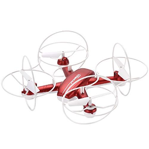Fcil de llevar Drones, drones de control remoto de cuatro ejes de un solo botn con cmaras, drones anti-cada 360  rollo para adultos, duracin de la batera larga, proteccin integral, adecuado pa