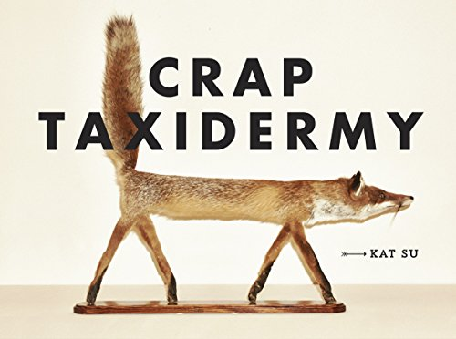 Funny taxidermy book gift ideas for the letter T
