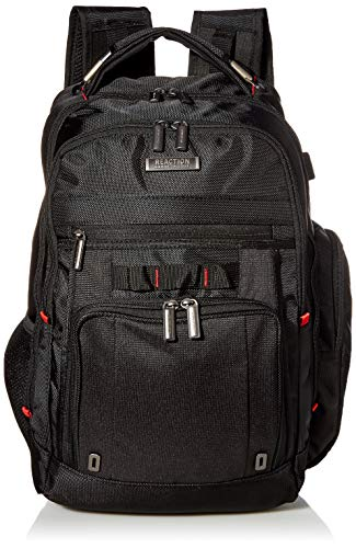 Kenneth Cole Reaction Dual Compartment with USB Port (RFID) Laptop Backpack,...