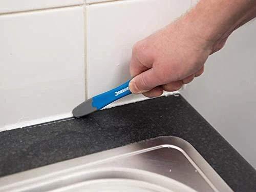 Silverline 416301 Flexibler Fugenglätter 145 mm, blau, 145mm