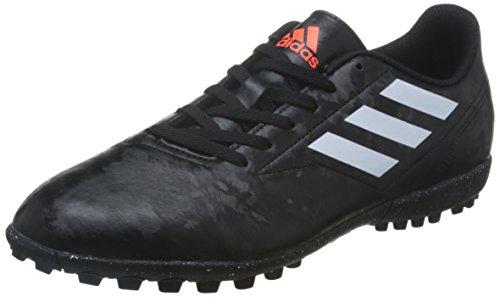 Adidas Tenis de fútbol para Hombre simipiel Negro con Blanco BB0560 25.5
