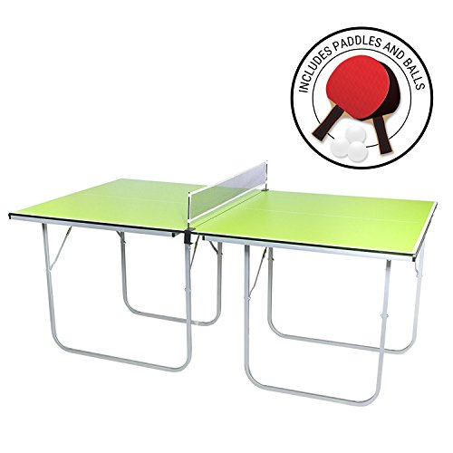 Milliard Mini-Pong Portable Tennis Table - 40 x 70 inches - Includes...
