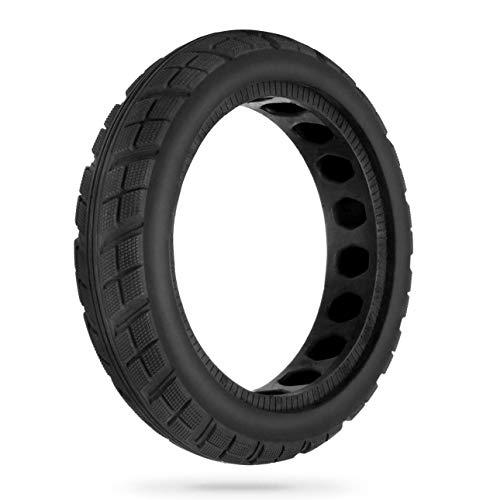 HORO.ES Repuesto Neumático Rueda Mejorada 8,5' sólido para Scooter Eléctrico Xiaomi Scooter M365 - Negro (Neu x1)