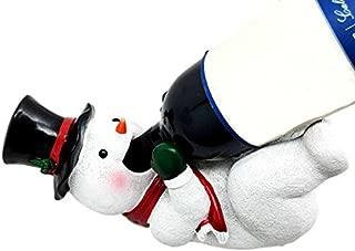 Christmas Joy Festive Season Classic Frosty The Snowman Wine Bottle Holder Figurine