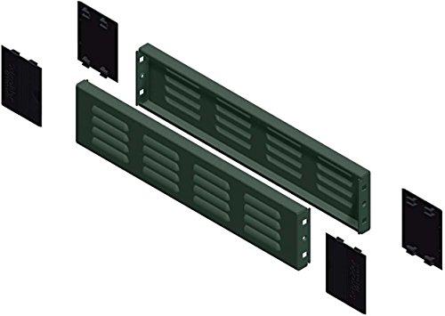 Schneider NSYSPV8100 Spacial SF/SM-Sockel-Seitenelemente mit Lüftungsschlitzen, 100x600x800mm