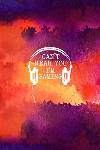 Funny Gamer Headset Can't Hear You I'mGaming Body Progress Tracker