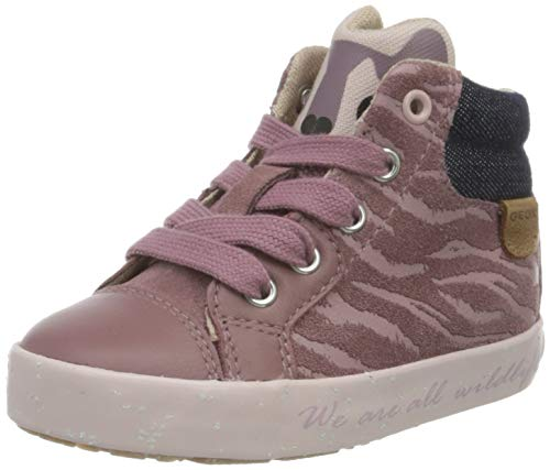 Geox Baby-Mädchen B Kilwi Girl C Sneaker, (Rose Smoke), 23 EU