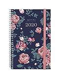 Finocam Espiral Design Collection Elegant, Agenda 2020 Semana Vista Apaisada Español, Mediano - E5-117x181 mm, Semana Vista Apaisada