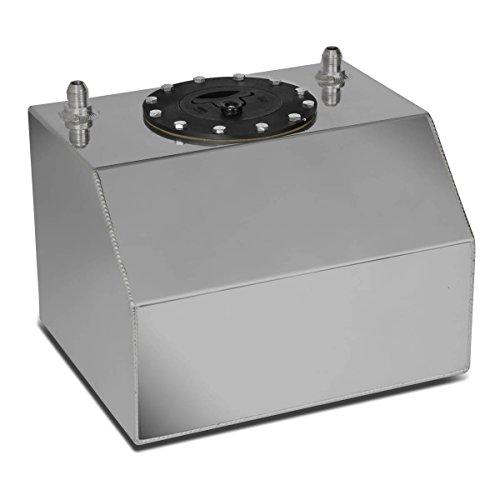 DNAMotoring ALU-FT-B-BF-4G Aluminum Bottom-Feed Fuel Cell Gas Tank, 4 gal