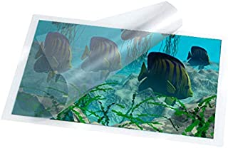Waterproof Over Laminate Sheets - Semi-Gloss Clear - 9.25 in x 12 in - 10 Sheets