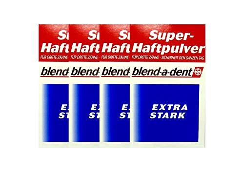 4x BLEND A DENT Super Haftpulver extra stark 168605 50 g PZN 3384395