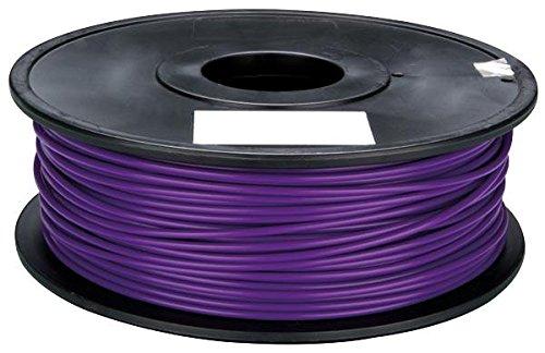 PLA FILAMENT, 3MM, 1KG, PURPLE // PLA FILAMENT, 3MM, 1KG, PURPLE; Diameter:3mm; Filament Colour:Purple; Filament Material:PLA (Polylactide); Melting Te ( PLA3Z1 )