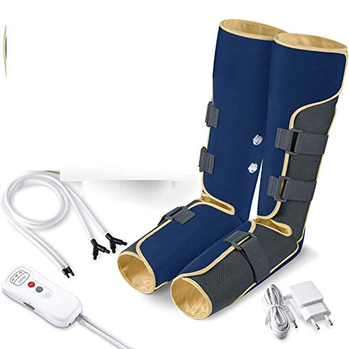 Best Price Foot And Calf Massage With Handheld Controller, Massage Boots Machine, Leg Air Massager F...