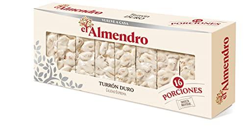 El Almendro Porciones de Turrón Duro, 400g