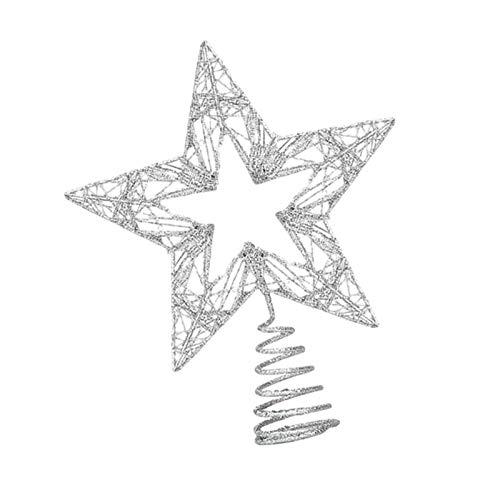 KEYDI Décoration Deétoile pour Sapin De Noël, Pointe De Sapi