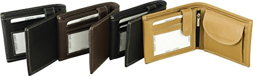 Fuente Leather Wears Borsa da palestra, marrone (Nero) - WLT001-005