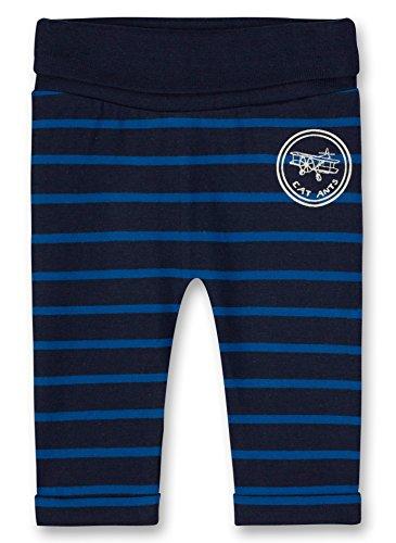Sanetta Sanetta Baby-Jungen Jogging Pants Lined Jogginghose, Blau (Evening Blue 5683.0), 56