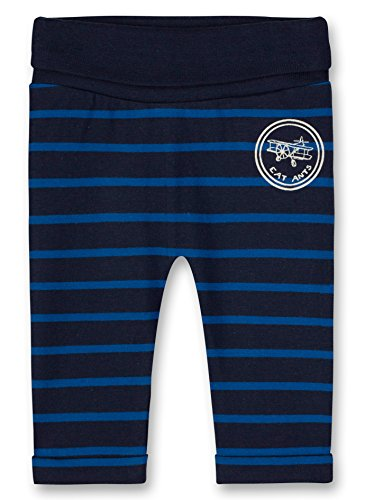 Sanetta Sanetta Baby-Jungen Jogging Pants Lined Jogginghose, Blau (Evening Blue 5683.0), 56