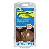 ATG Tinte reparador Cuero Set: restaurador tapiceria Cuero y Cuero sintético,MARRÓN