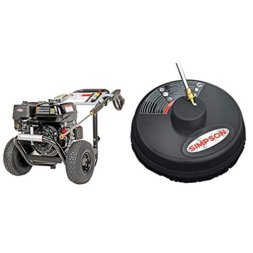 SIMPSON Cleaning PS3228 PowerShot Gas Pressure Washer Powered by Honda GX200, Black & 80165, Rated Up to 3700 PSI Universal 15