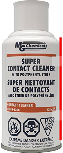 MG Chemicals 801B Super Contact Cleaner with PPE 45 oz Aerosol 801B125G