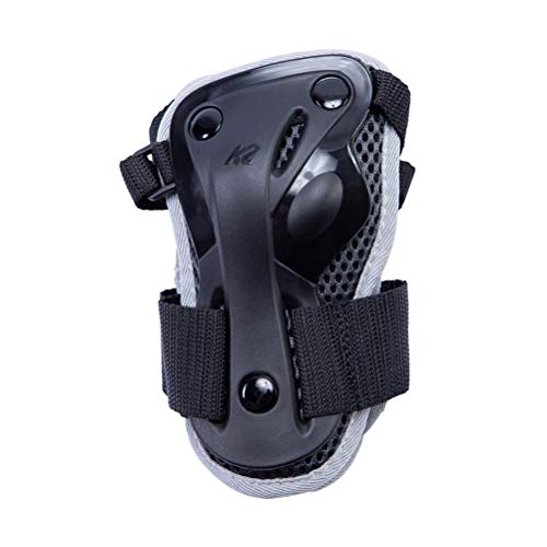 K2 Skates Damen Performance Guard M Pad Set, black-anthracite, XL (Wrist: A:25-27cm B:22-24cm)