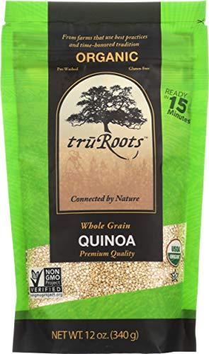 TruRoots Organic Whole Grain Quinoa, 12 Ounces