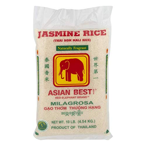 Asian Best Jasmine Rice, 10 Pound, 160 ounce