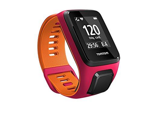 TomTom Runner 3 Cardio GPS-Sportuhr (Eingebauter Herzfrequenzmesser, Routenfunktion, Multisport-Modus, 24/7 Aktivitäts-Tracking)
