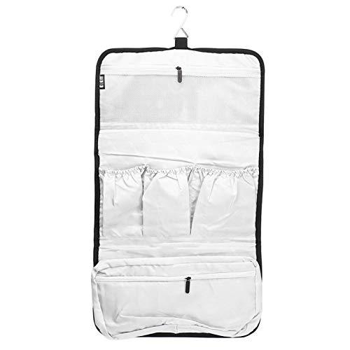 Uxsiya Kit de secador de Pelo Bolsa de Almacenamiento Negra Bolsa de Viaje práctica y portátil para Uso Diario en el hogar para Hombres y Mujeres