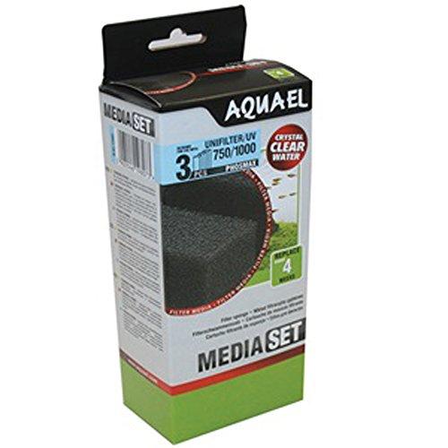 Aquael Unifilter UV/750/1000Phosmax spugna X3
