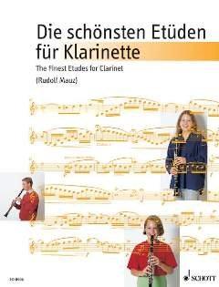 DIE SCHOENSTEN ETUEDEN - arrangiert für Klarinette [Noten / Sheetmusic] Komponist: MAUZ RUDOLF