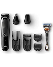 Braun MGK 5060 Multi grooming kit - 8-in-one Trimmer for precision styling from head to toe (Pack of 1)