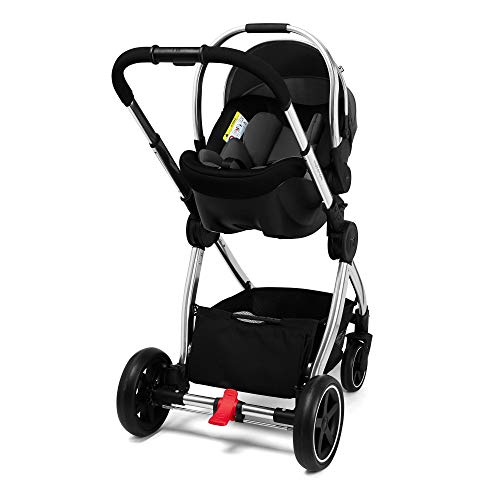 Mothercare PC Journey W.Liner Travel System, Chrome/Black