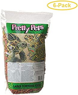 Pretty Pets Large Tortoise Food 3 lbs - Pack of 6