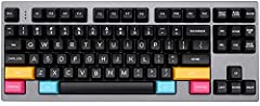 1 SA profile (sculpted 1-1-2-3-4-4) 2 Compatible with Cherry MX and clones 3 ABS plastic 4 Doubleshot legends 5 If you order All in One, the keycap set doesn't include CMYK, that means you need order CMYK seperately