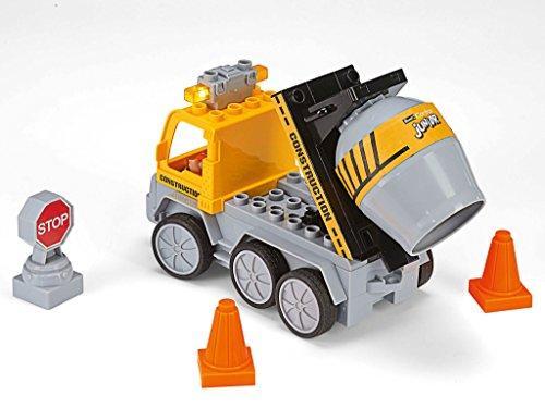 RC Auto kaufen Baufahrzeug Bild 5: Revell Control Junior RC Car Betonmischer - ferngesteuertes Baufahrzeug mit 27 MHz Fernsteuerung, kindgerechte Gestaltung, ab 3, mit Teilen und Figur zum Bauen und Spielen, LED-Blinklichtern - 23007*