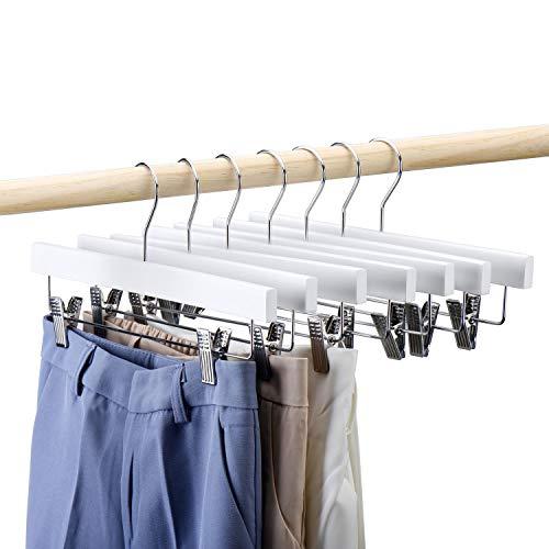 HOUSE DAY Paquete 25 Perchas Madera Pantalones 14