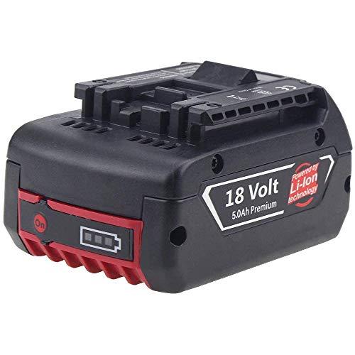 Boetpcr 18V 5.0Ah Li-Ion sostituzione per Bosch batteria BAT609 BAT610G BAT618G BAT620 Batteria di Ricambio Con Display Elettricità