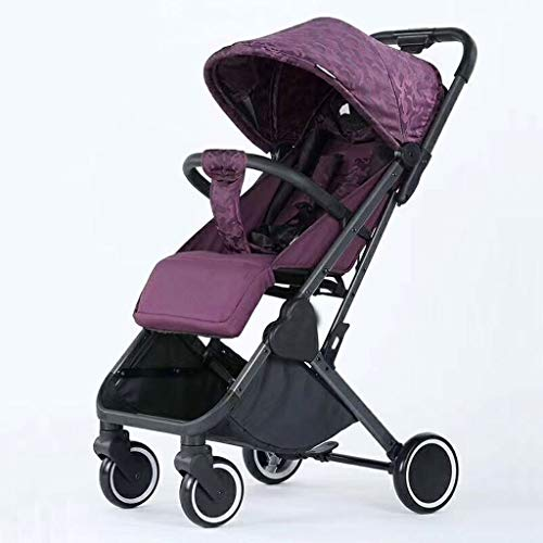 Fantastic Prices! JIAX Portable Baby Stroller-Lightweight Newborn Baby Pushchair, Convertible Reclin...
