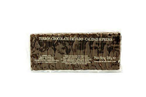 Turrón de Chocolate Trufado 200g - Marca El Abuelo - Más de 100 años de tradición turronera - Para los auténticos amantes del chocolate trufado - Selección de Pralinés exclusiva