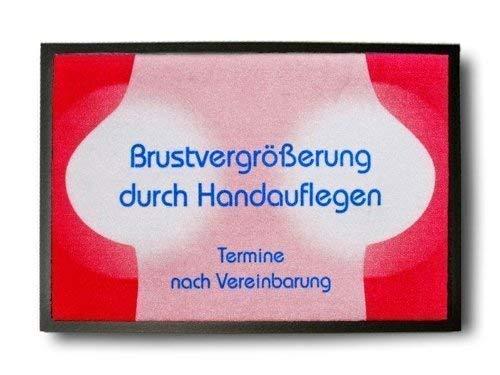 Pfiffig-Wohnen Die coole Fußmatte - Brustvergrößerung durch Handauflegen
