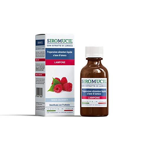 Siromucil Sciroppo Fluidificante con Estratto di Lumaca Gusto Lampone - 150 ml