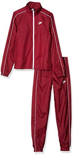 Nike Herren Sportswear Trainingsanzug, Rot/weiß (Team Red/White/White), L